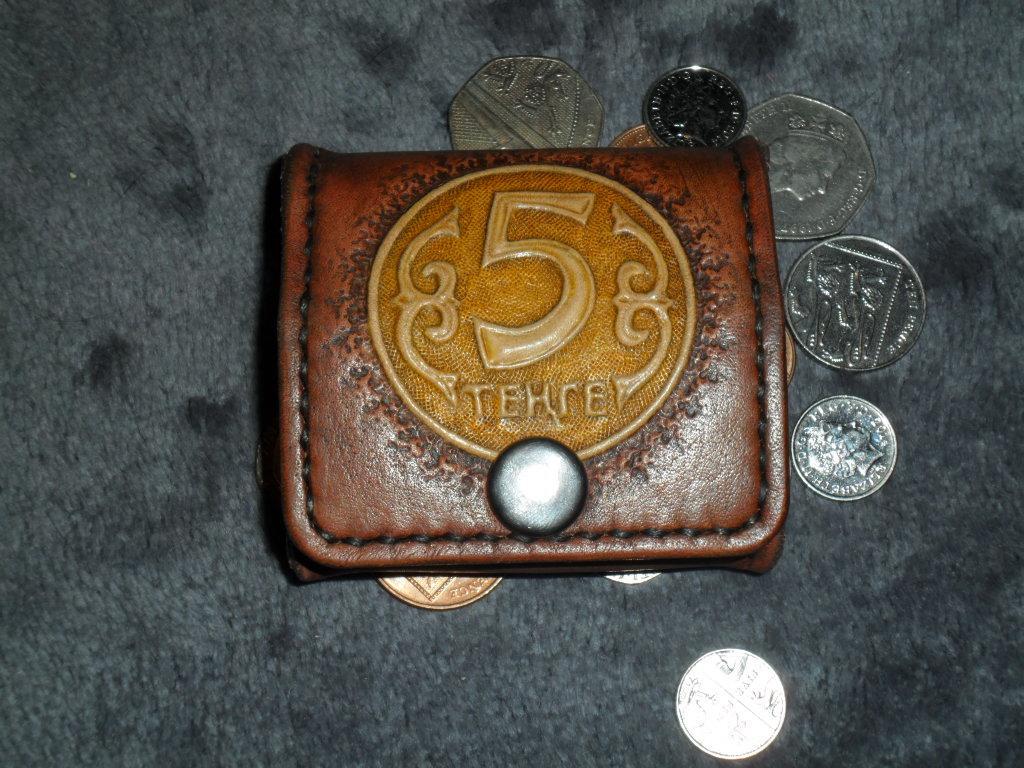 Кошелёк для монет 'Пять тенге'